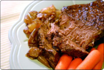 Balsamic & Sweet Onion Pot Roast – Watt Works Nutrition