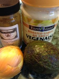 BGW Curried Tuna Ingredients